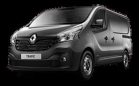 Накладки на пороги для Renault (Рено) Trafic 3 2014+
