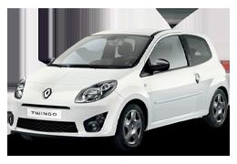 Накладки на пороги для Renault (Рено) Twingo 2 2007-2014