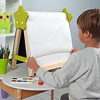 Мольберт настольний для творчості та навчання «5в1» Люмик. Малюємо світлом,крейдою, маркерами, фото 1