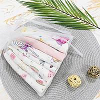 Набор муслиновых платочков для девочек Lukoshkino ® (NMP-2)