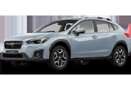 Накладки на пороги для Subaru (Субару) XV 2 2017+