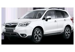 Накладки на пороги для Subaru (Субару) Forester 4 2012-2018