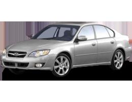 Накладки на пороги для Subaru (Субару) Legacy 5 2009-2014