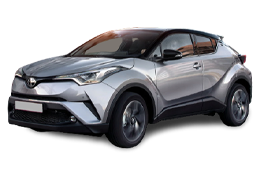 Накладки на пороги для Toyota (Тойота) C-HR 2016+