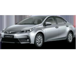 Накладки на пороги для Toyota (Тойота) Corolla 11 2012-2018