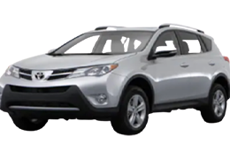 Накладки на пороги для Toyota (Тойота) RAV4 4 2013-2018