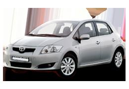 Накладки на пороги для Toyota (Тойота) Auris 1 (E150) 2006-2012