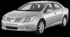 Накладки на пороги для Toyota (Тойота) Avensis 3 2009-2018