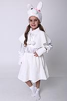 Детский новогодний костюм Зайчик для девочки, фото 1