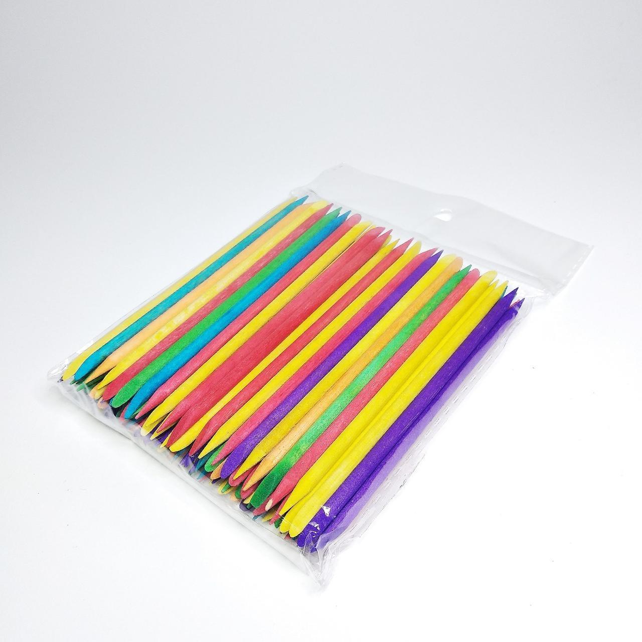 Апельсиновые палочки  цветные 11,5 см. (1 шт.)