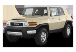 Накладки на пороги для Toyota (Тойота) FJ Cruiser 2006-2014