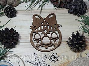 Дерев'яна ноговодняя іграшка Тонована Калакольчики з Бантиком №49-1
