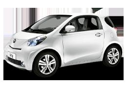 Накладки на пороги для Toyota (Тойота) iQ 2008-2011