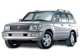 Накладки на пороги для Toyota (Тойота) Land Cruiser 100 1998-08