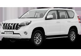 Накладки на пороги для Toyota (Тойота) LC Prado 150 2009-2014