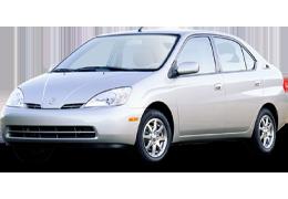 Накладки на пороги для Toyota (Тойота) Prius 2 2003-2009