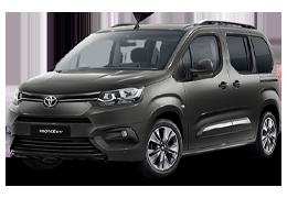 Накладки на пороги для Toyota (Тойота) ProAce 2 2016+