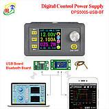 Модуль DPS5005 0-50V 0-5A 250Вт Лабораторный блок питания с USB + BT, фото 5
