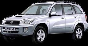 Накладки на пороги для Toyota (Тойота) RAV4 2 2000-2005