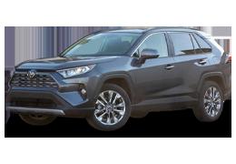 Накладки на пороги для Toyota (Тойота) RAV4 5 2019+
