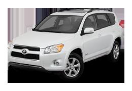 Накладки на пороги для Toyota (Тойота) RAV4 3 2006-2013