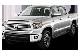 Накладки на пороги для Toyota (Тойота) Tundra 2 2006-2013