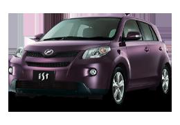 Накладки на пороги для Toyota (Тойота) Ist 2 (XP110) 2007-2016