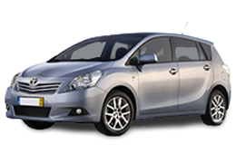 Накладки на пороги для Toyota (Тойота) Verso 1 2009-2013