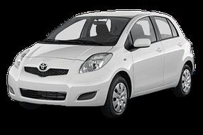 Накладки на пороги для Toyota (Тойота) Yaris/Vits 2 2005-2011