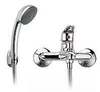 Смеситель для ванны с душевым гарнитуром Ferro Smile BSM11 хром, фото 1