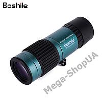 Компактный монокуляр Bоshilе 15-75x25 для наблюдения на рыбалке и охоте. Мощный монокуляр CF522Q