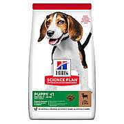 HILL'S SCIENCE PLAN Puppy Medium Сухий Корм для Цуценят з Ягням і Рисом - 14 кг