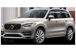 Накладки на пороги для Volvo (Вольво) XC90 II 2014+
