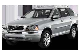Накладки на пороги для Volvo (Вольво) XC90 I 2002-2014