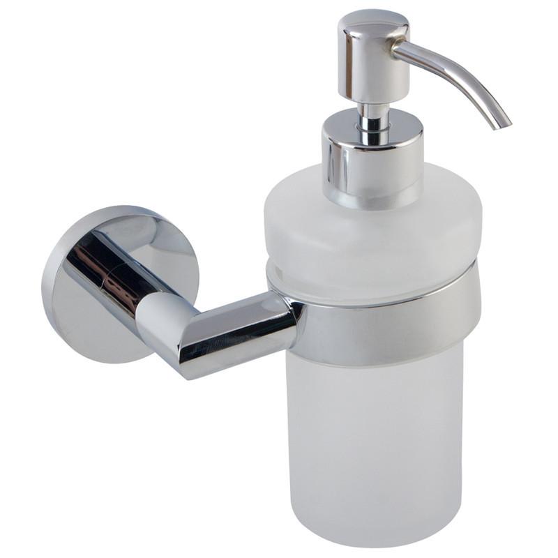 Дозатор для мыла объем 210 мл Imprese Hranice 170100 хром