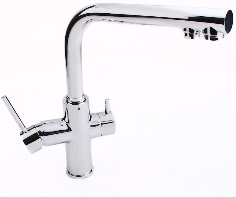 Смеситель на две воды Imprese Daicy 55009-F хром