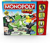 Настільна гра Монополія Junior Hasbro англійська мова