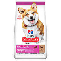 HILL'S SCIENCE PLAN Adult Small & Mini Сухий Корм для Собак з Ягням і Рисом - 6 кг