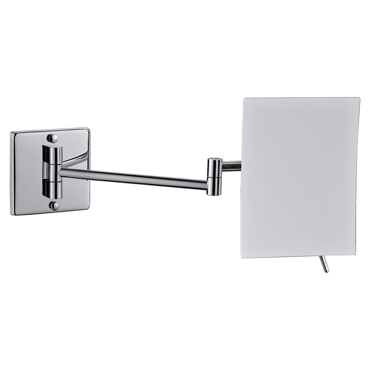 Зеркало косметическое, увеличение Х3, прямоугольное Imprese 182222
