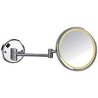 Зеркало косметическое, увеличение Х3, с подсветкой Imprese 181322