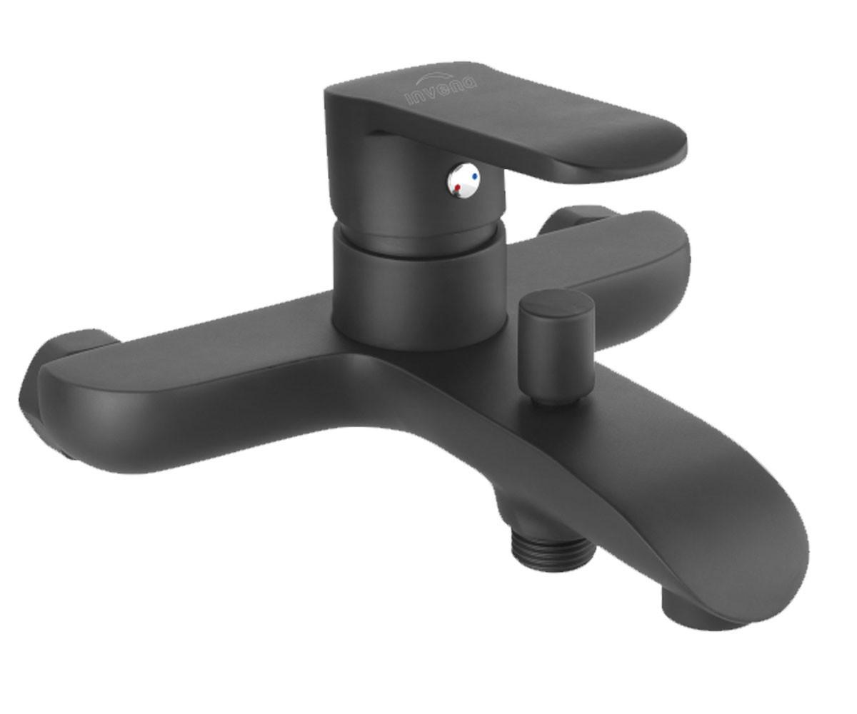Смеситель для ванны Invena Siros BW-90-004 черный