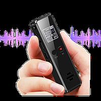 Профессиональный цифровой мини диктофон Vandlion V90 32 Гб с дисплеем, голосовая активация, MP3