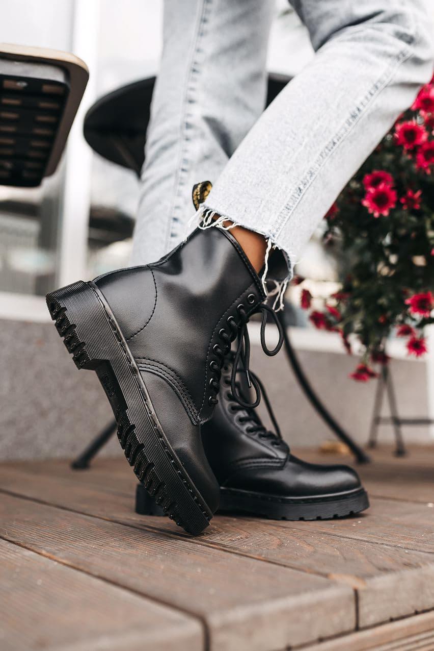 Женские ботинки Dr. Martens Classic Black (без меха)