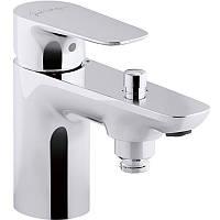 Смеситель для ванны на одно отверстие Jacob Delafon ALEO E72284-CP хром