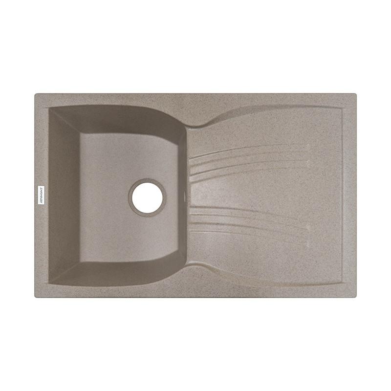Кухонная мойка гранитная Adamant NEW LINE 790х500х241 07 терра