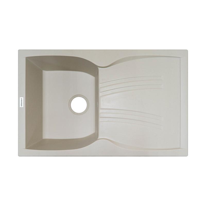 Кухонная мойка гранитная Adamant NEW LINE 790х500х242 08 слоновая кость