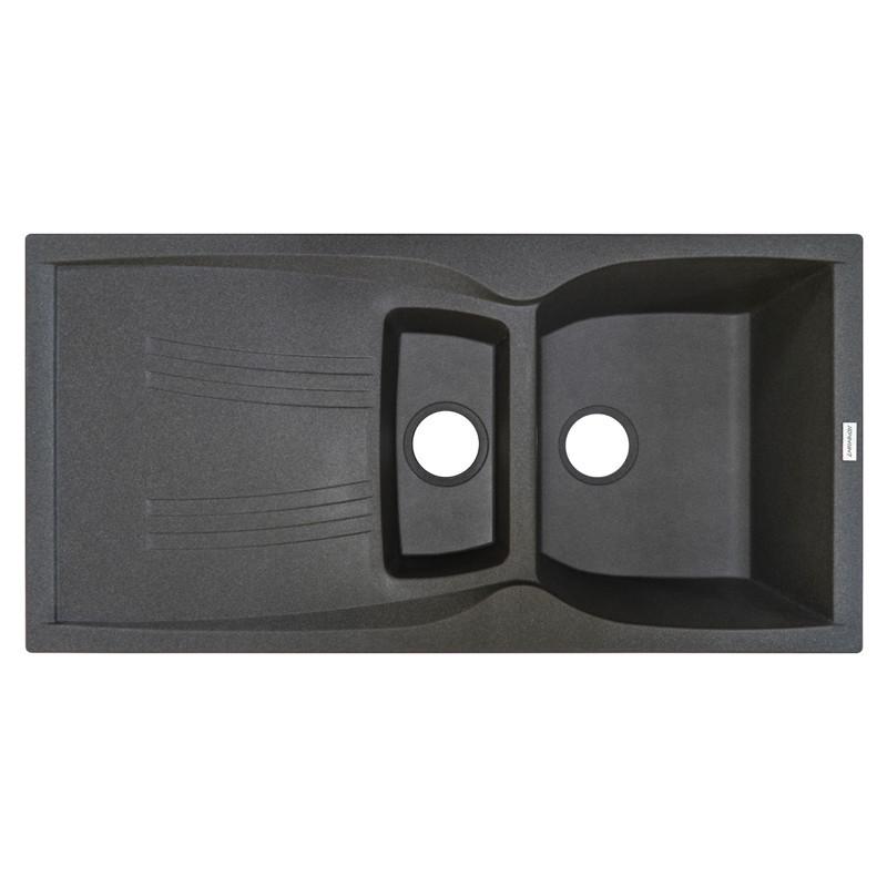 Кухонная мойка гранитная Adamant NEW LINE PLUS 980х500х233 04 серый
