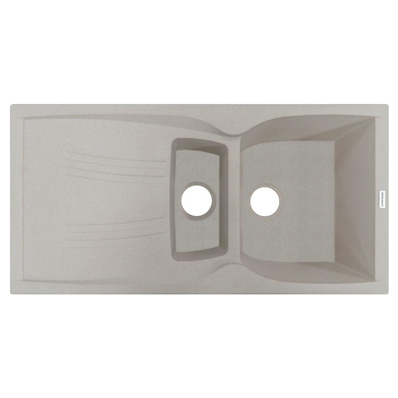 Кухонная мойка гранитная Adamant NEW LINE PLUS 980х500х235 06 авена