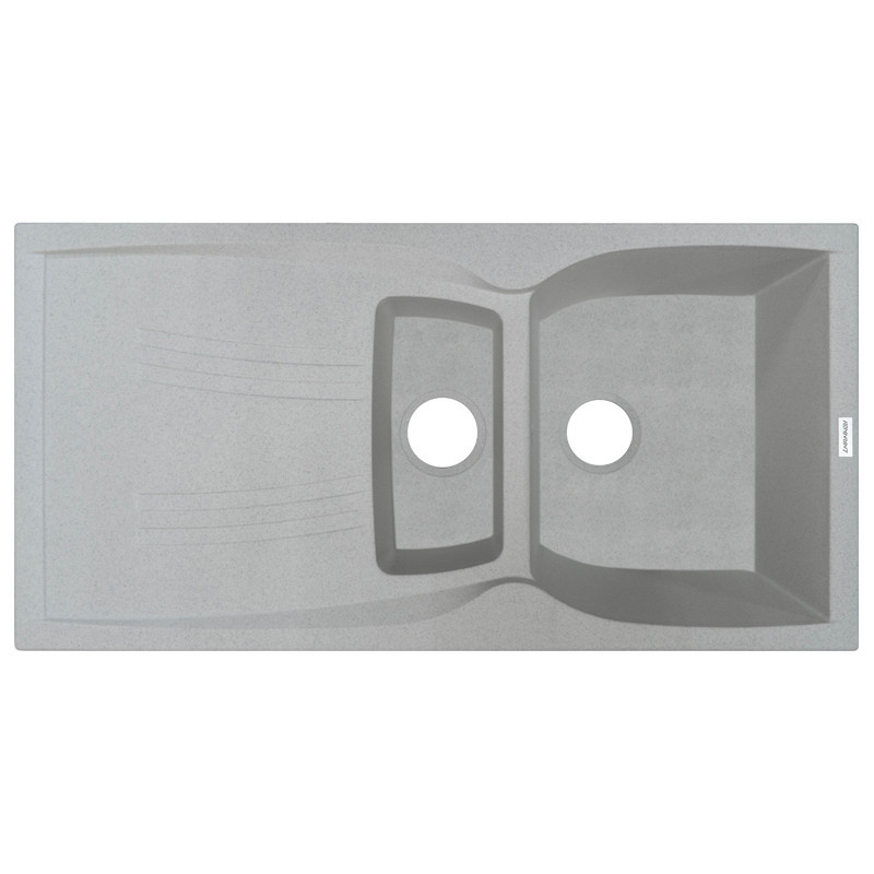 Кухонная мойка гранитная Adamant NEW LINE PLUS 980х500х239 10 старый камень