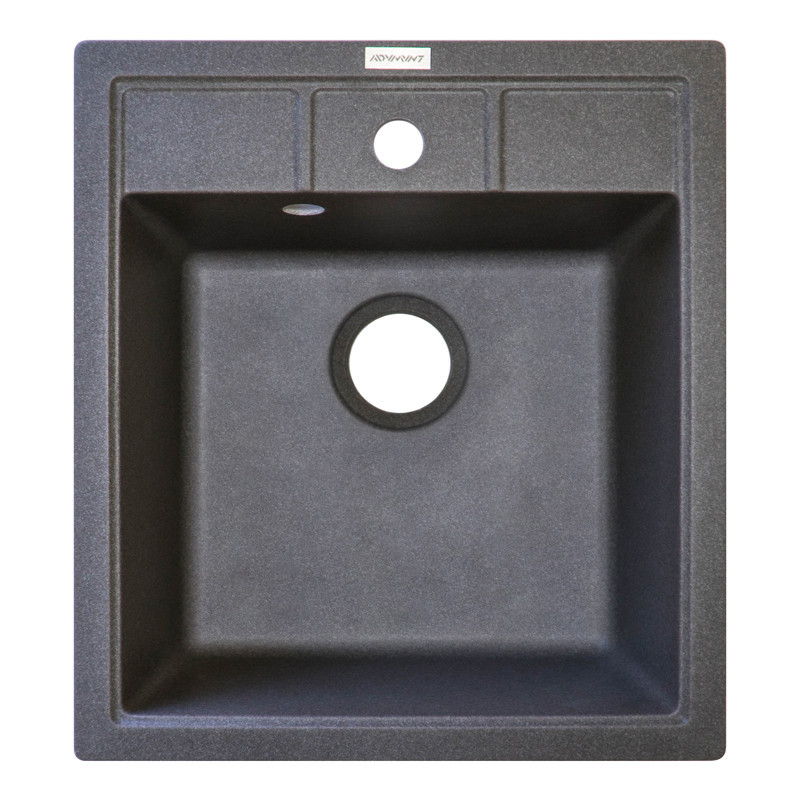 Кухонная мойка гранитная Adamant BRICK 460х515х203 04 серый